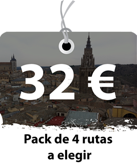 Pack de 4 Rutas por Toledo