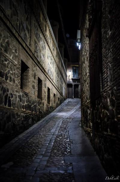 Calles empedradas de Toledo