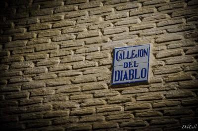 Callejon del Diablo en Toledo