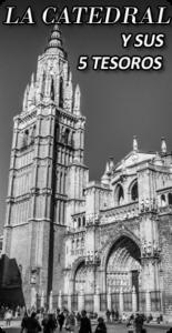 La Catedral de Toledo y sus 5 tesoros. La catedral de Santa María de Toledo, llamada también Catedral Primada de España, sede de la Archidiócesis de Toledo, es un edificio de arquitectura gótica, considerado por algunos como la opera magna del estilo gótico en España.  Conoce con nosotros la 2da. Catedral más grande de España, Un recorrido lleno de historia, arte, detalles y curiosidades.  De la mano de Secretos de Toledo descubrirás la Sala capitular, la Sacristía, El tesoro, El coro y el Altar Mayor.  Déjate llevar por nuestros guías oficiales en un viaje a través del tiempo y sumérgete en la historia de esta maravilla arquitectónica, patrimonio de la humanidad.