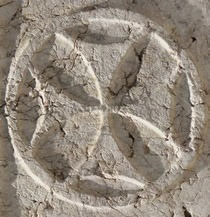 Cross symbol of Saint John knights